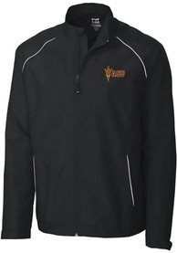 Arizona State Sun Devils Cutter and Buck Beacon 1/4 Zip Pullover - Black
