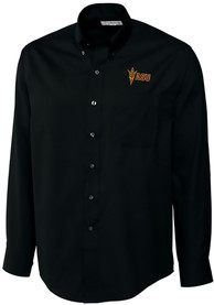 Arizona State Sun Devils Cutter and Buck Epic Dress Shirt - Black