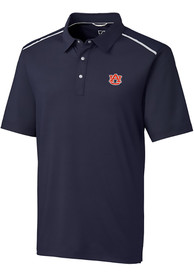 Auburn Tigers Cutter and Buck Fusion Polo Shirt - Navy Blue