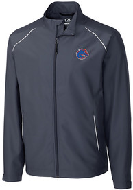 Boise State Broncos Cutter and Buck Beacon 1/4 Zip Pullover - Black