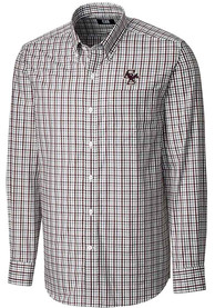 Boston College Eagles Cutter and Buck Gilman Dress Shirt - Maroon
