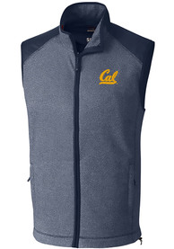 Cal Golden Bears Cutter and Buck Cedar Park Vest - Navy Blue