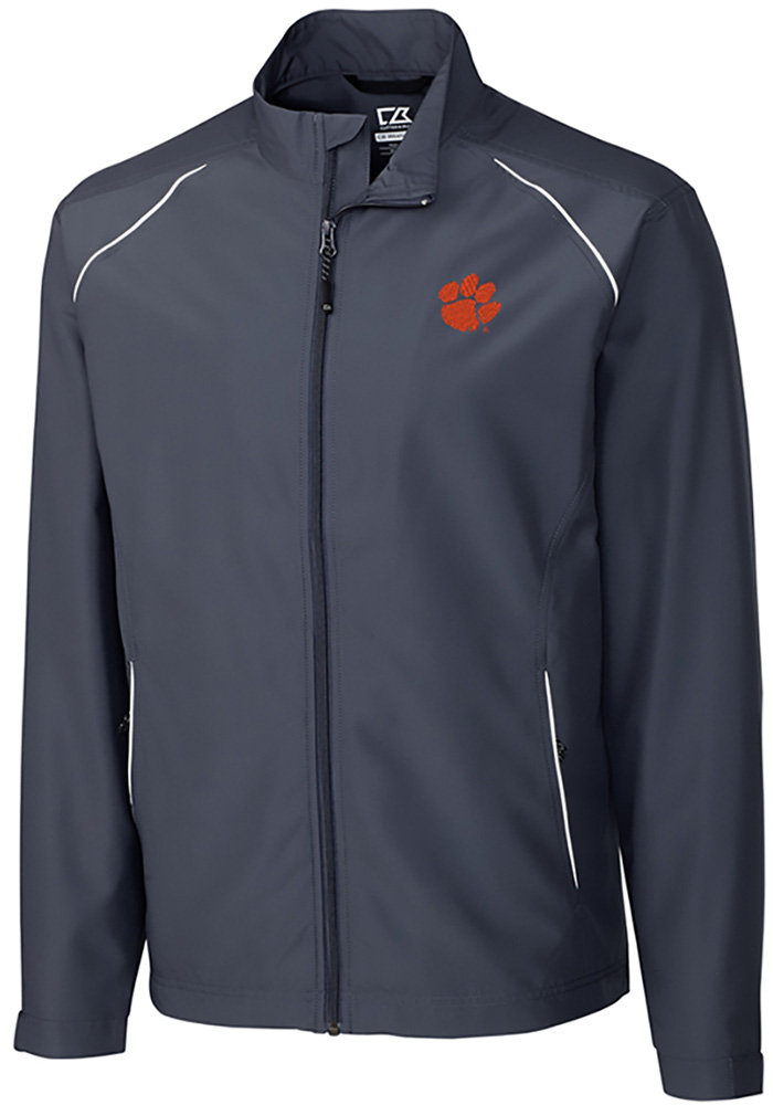 Cutter and Buck Clemson Tigers Mens Black Beacon Long Sleeve 1/4 Zip Pullover - Image 1