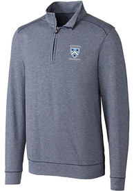 Columbia University Lions Cutter and Buck Shoreline 1/4 Zip Pullover - Navy Blue