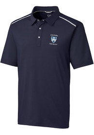 Columbia University Lions Cutter and Buck Fusion Polo Shirt - Navy Blue