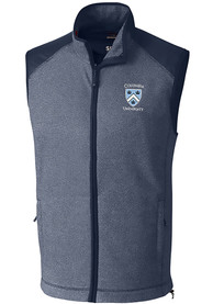 Columbia University Lions Cutter and Buck Cedar Park Vest - Navy Blue