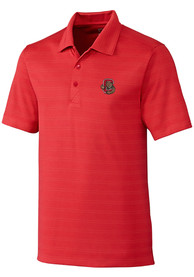 Cornell Big Red Cutter and Buck Interbay Melange Polo Shirt - Red