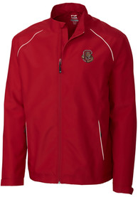 Cornell Big Red Cutter and Buck Beacon 1/4 Zip Pullover - Red