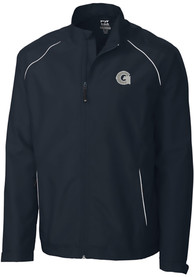 Georgetown Hoyas Cutter and Buck Beacon 1/4 Zip Pullover - Navy Blue
