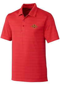 Iowa State Cyclones Cutter and Buck Interbay Melange Polo Shirt - Red