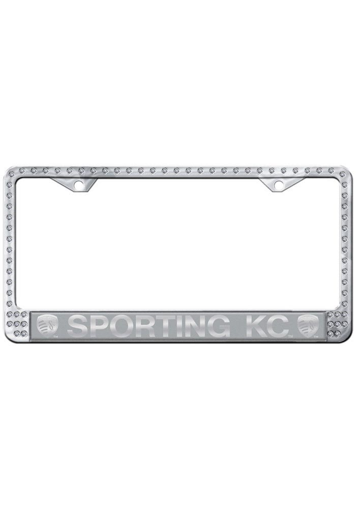 Sporting Kansas City Silver Bling License Frame