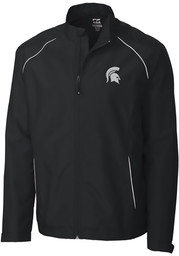 Michigan State Spartans Cutter and Buck Beacon 1/4 Zip Pullover - Black