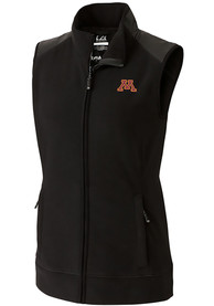 Minnesota Golden Gophers Womens Cutter and Buck Cedar Park Vest - Black