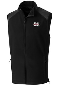 Mississippi State Bulldogs Cutter and Buck Cedar Park Vest - Black
