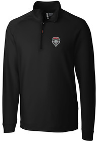 New Mexico Lobos Cutter and Buck Jackson 1/4 Zip Pullover - Black