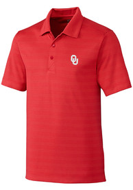 Oklahoma Sooners Cutter and Buck Interbay Melange Polo Shirt - Red