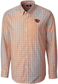 Oregon State Beavers Cutter and Buck Gilman Dress Shirt - Orange