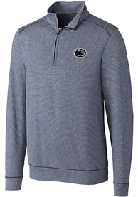 Penn State Nittany Lions Cutter and Buck Shoreline 1/4 Zip Pullover - Navy Blue