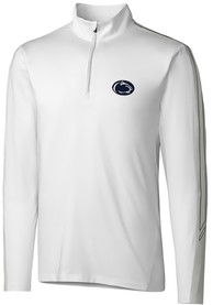 Penn State Nittany Lions Cutter and Buck Pennant Sport 1/4 Zip Pullover - White