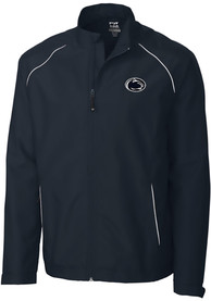 Penn State Nittany Lions Cutter and Buck Beacon Full Zip Jacket - Navy Blue