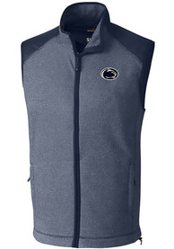Penn State Nittany Lions Cutter and Buck Cedar Park Vest - Navy Blue