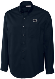 Penn State Nittany Lions Cutter and Buck Epic Dress Shirt - Navy Blue