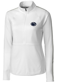 Penn State Nittany Lions Womens Cutter and Buck Pennant Sport Full Zip Jacket - White