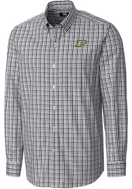 Purdue Boilermakers Cutter and Buck Gilman Dress Shirt - Black