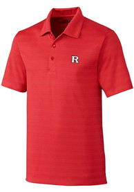 Rutgers Scarlet Knights Cutter and Buck Interbay Melange Polo Shirt - Red