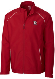 Rutgers Scarlet Knights Cutter and Buck Beacon 1/4 Zip Pullover - Red