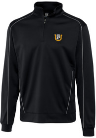 USF Dons Cutter and Buck Edge 1/4 Zip Pullover - Black