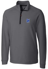 Seton Hall Pirates Cutter and Buck Jackson 1/4 Zip Pullover - Grey