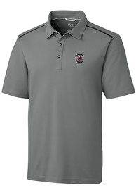 South Carolina Gamecocks Cutter and Buck Fusion Polo Shirt - Grey
