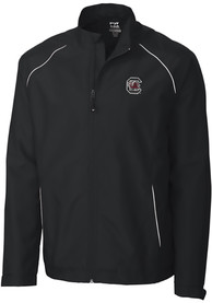 South Carolina Gamecocks Cutter and Buck Beacon 1/4 Zip Pullover - Black