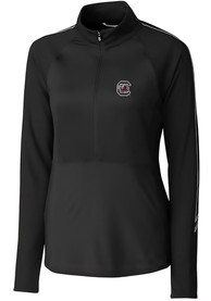 South Carolina Gamecocks Womens Cutter and Buck Pennant Sport Full Zip Jacket - Black