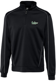 South Florida Bulls Cutter and Buck Edge 1/4 Zip Pullover - Black