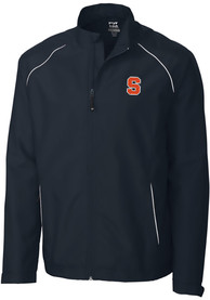 Syracuse Orange Cutter and Buck Beacon 1/4 Zip Pullover - Navy Blue