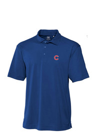 Chicago Cubs Cutter and Buck Genre Polo Shirt - Blue