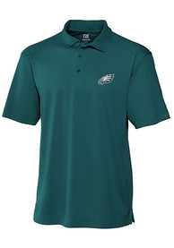 Philadelphia Eagles Cutter and Buck Genre Polo Shirt - Midnight Green