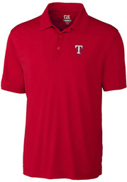 Texas Rangers Cutter and Buck Northgate Polo Shirt - Red