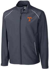 Tennessee Volunteers Cutter and Buck Beacon 1/4 Zip Pullover - Black