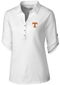 Tennessee Volunteers Womens Cutter and Buck Thrive Dress Shirt - White