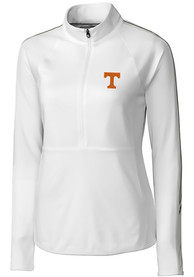 Tennessee Volunteers Womens Cutter and Buck Pennant Sport Full Zip Jacket - White