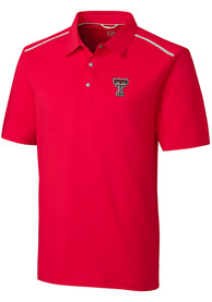 Texas Tech Red Raiders Cutter and Buck Fusion Polo Shirt - Red