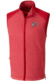 Utah Utes Cutter and Buck Cedar Park Vest - Red