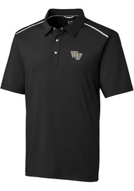 Wake Forest Demon Deacons Cutter and Buck Fusion Polo Shirt - Black
