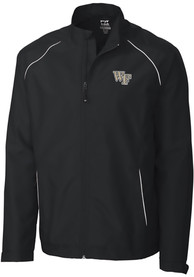 Wake Forest Demon Deacons Cutter and Buck Beacon 1/4 Zip Pullover - Black