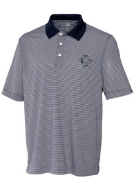 Cutter and Buck Penn State Nittany Lions Navy Blue Trevor Short Sleeve Polo Shirt