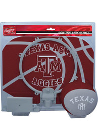 Texas A&M Aggies Slam Dunk Hoop Set Basketball Set