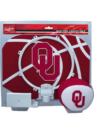 Oklahoma Sooners Slam Dunk Hoop Set Basketball Set